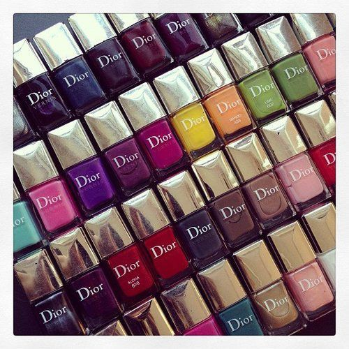I think Dior has the best nail polishes. The colors and design of the polish are so attractive