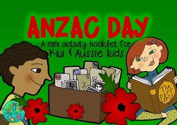 Did you know that Diggers often enjoy a Gunfire Breakfast after early morning Dawn Parades? (A gunfire-breakfast is coffee and rum!) Immerse your class in the rich history of Anzac Day to support their understanding of the 2015 100th anniversary commemorations at GallipoliThis 54 page mini booklet pack is designed to support your classroom discussions about Anzac Day.