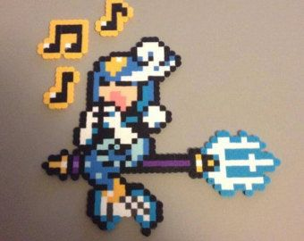 Splash Woman perler | Splash Woman Perler Bead Sprite (fr om Mega Man 9) ...