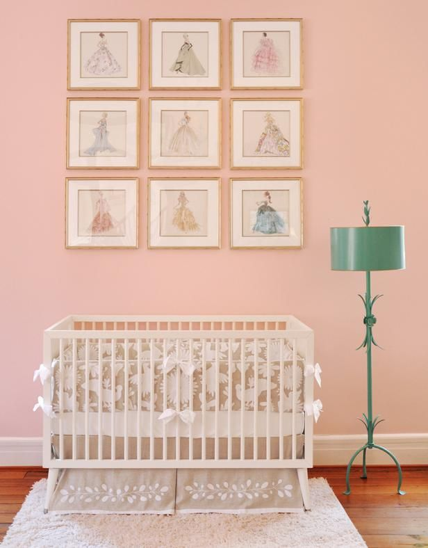 Baby girl nursery color, Bec??? April 2014: Magnolia  - Colors We Love Now: HGTV's Color of the Month on HGTV