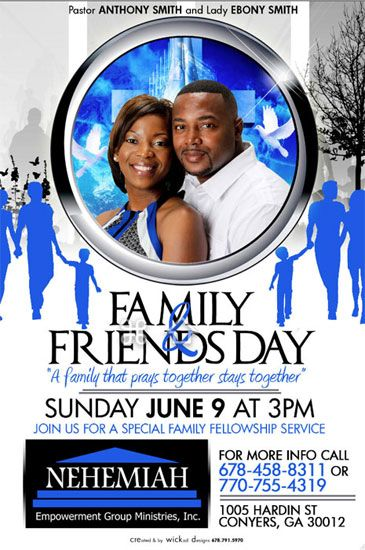 FAMILY AND FRIENDS DAY CHURCH THEME | just b.CAUSE |Themes For Family And Friends