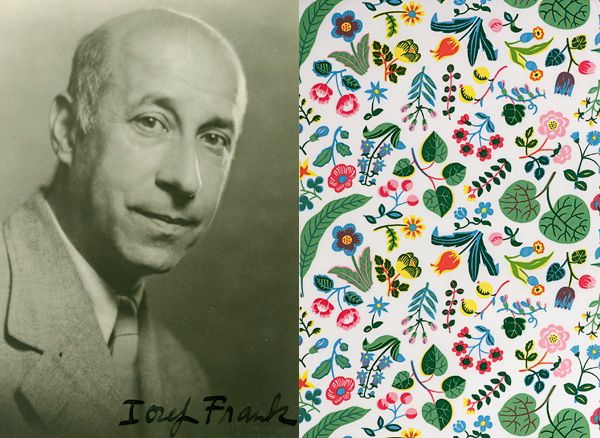 Josef Frank, who was born in Austria but emigrated to Sweden in 1933, was a pioneer in the Swedish Modern movement of the 20th century and a member of the Stockholm design company Svenskt Tenn.
