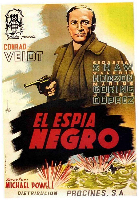 """El espía negro (1939) """"The Spy in Black"""" de Michael Powell - tt0031968"""