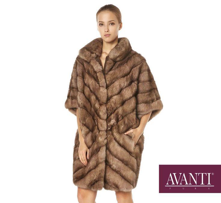 AVANTI FURS - MODEL: NIKI SABLE JACKET with Mink Silk details #avantifurs #fur #fashion #fox #luxury #musthave #мех #шуба #стиль #норка #зима #красота #мода #topfurexperts