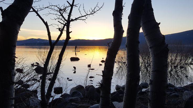 Sunset at Kings Beach Lake Tahoe http://ift.tt/2Ee6Huk