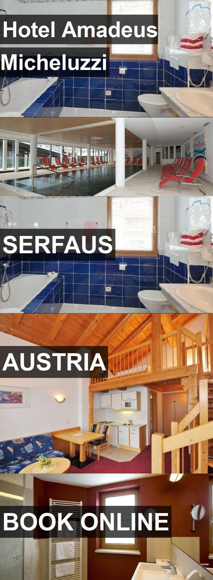 Hotel Amadeus Micheluzzi in Serfaus, Austria. For more information, photos, reviews and best prices please follow the link. #Austria #Serfaus #travel #vacation #hotel