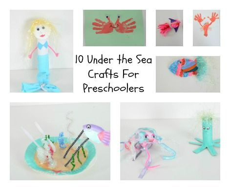 fun ideas for an Under the Sea display #LearningIsFun