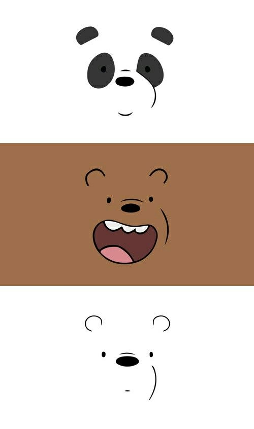 We bare bears wallpaper