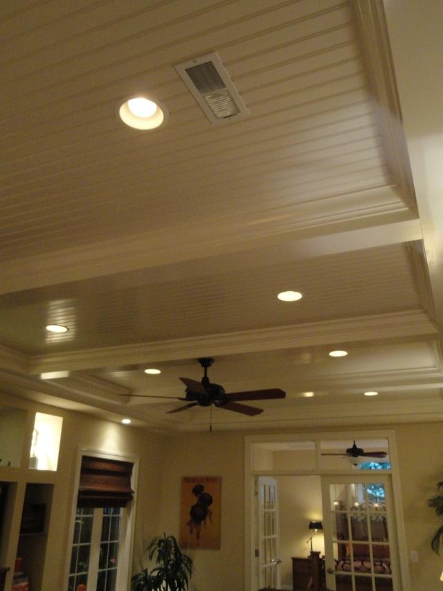 Beadboard ceiling idea for basement ...