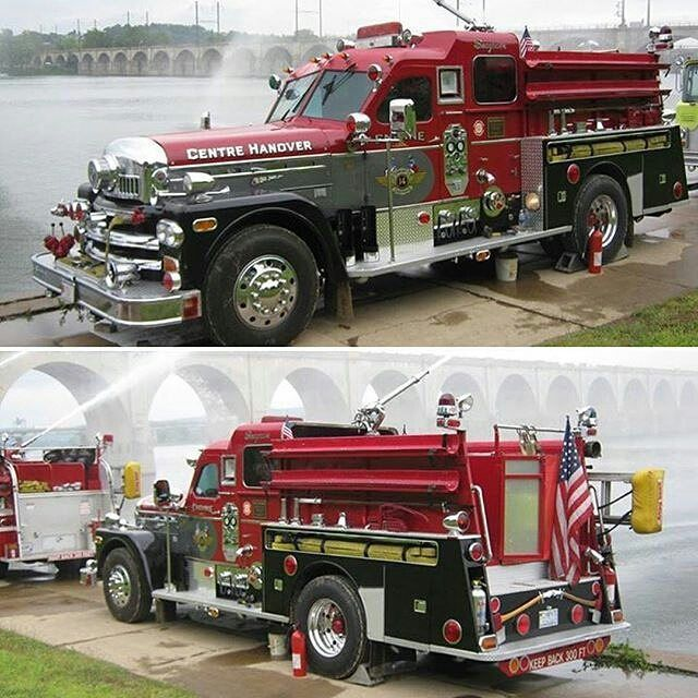 "1,735 Likes, 19 Comments - Chief Miller ™ (@chief_miller) on Instagram: "" FEATURED POST  @kempterfirewire Centre Hanover Fire Company. Engine - Seagrave 70th…"""