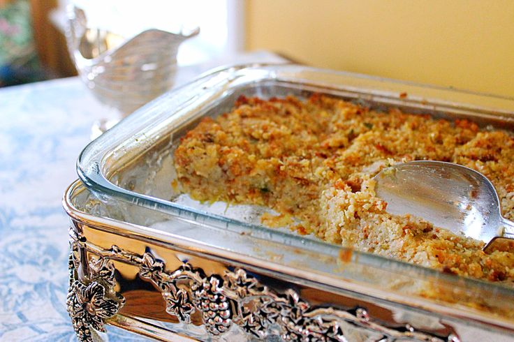 To Stuff or Not to Stuff (recipe:  Old Fashioned Cornbread Dressing)