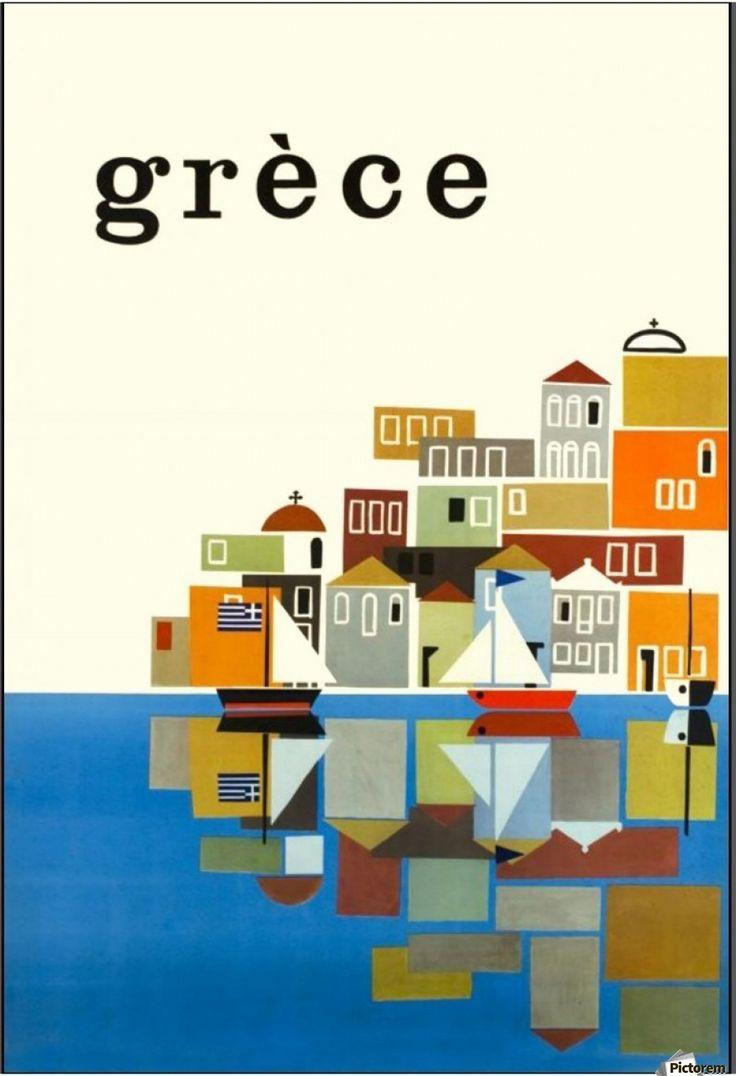 Greece, Seaside Village.