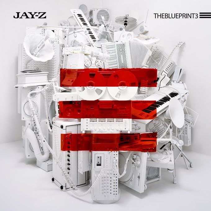 Jay-Z – The Blueprint 3 cover / Dan Tobin Smith