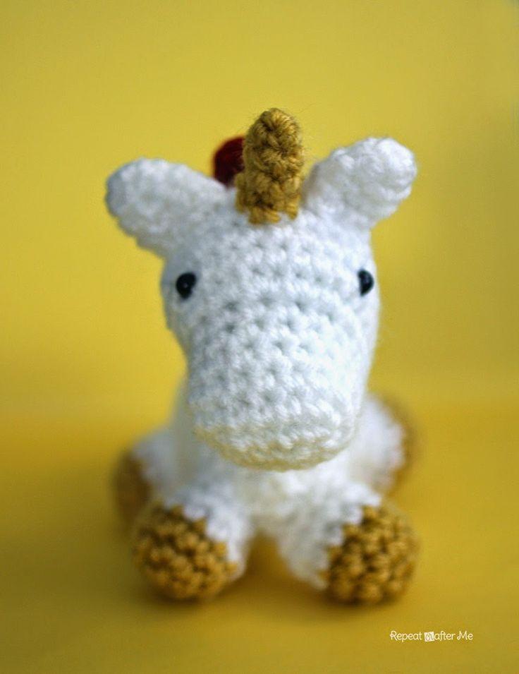 Amigurumi Unicornio Gru : Mejores im�genes de unicornios crochet en pinterest