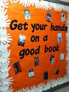 School+Library+Bulletin+Board+Ideas | DCG Middle School Library display | library bulletin board ideas