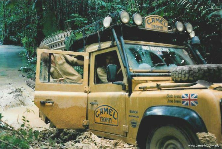 Land Rover Defender 110 Tdi Sw Se Camel Trophy