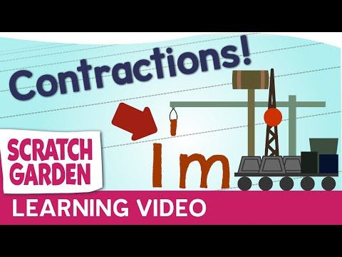 Contractions! | Scratch Garden - YouTube