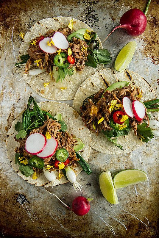 These carnitas are supereasy to make — you can even prep them ahead of time and heat them up right before serving.