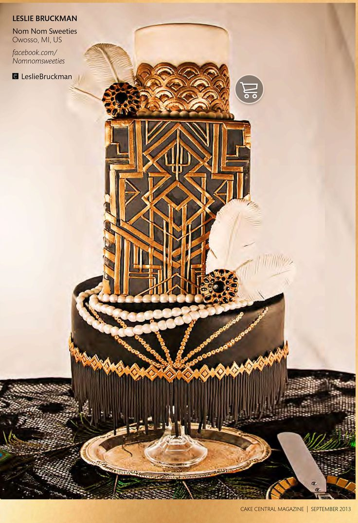 great wedding cake ideas 35 best great gatsby cakes images on cake 14934