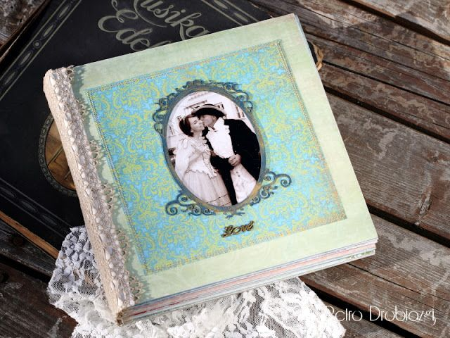 Scrapbooking #album retro
