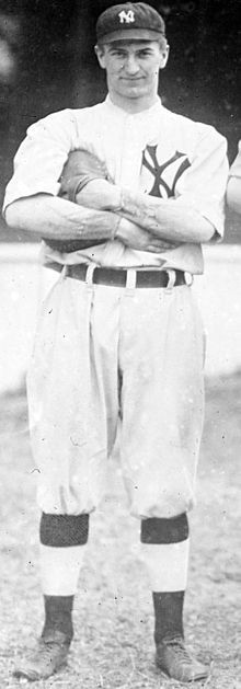 November 22, 1892 – March 11, 1941: Pi Schwert: born in Angola,NY/ a graduate of the Univ of Pennsylvania/ a catcher in pro ball 1914-17,1920-21/ played with the Yankees in 1914 and 15/ served in the US Navy in WWl/elected to the US Congress in 1938 and 1940