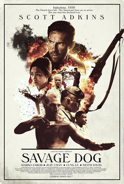 M.A.A.C.   –  SCOTT ADKINS, MARKO ZAROR, CUNG LE, and JUJU CHAN Teams Up For SAVAGE DOG. UPDATE: First Trailer
