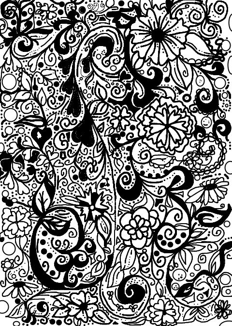 88 Best Doodle Coloring Pages Images On Pinterest