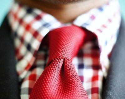 Nice tie and shirt.