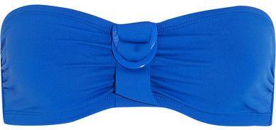 Eres - Petula Tiffany Bandeau Bikini Top - Azure