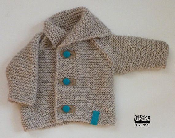 Light gray Baby Bazzooka jacket. BAMBINO BAZZOOKA by bazzooka, $45.00