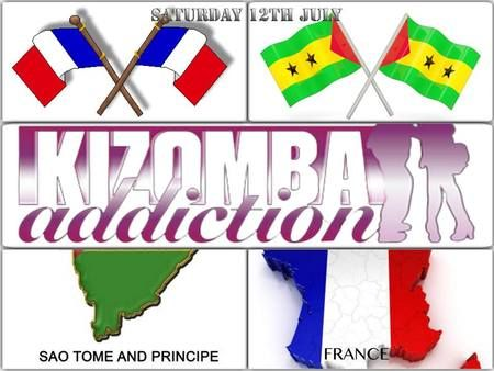 Saturday 12th July Sao Tome and Principe and France Independence day celebration. Club with DJ G-Sousa and DJ KA playing the best Kizomba, Coladeira, Ghetto Zouk, Funana, Semba and Tarraxinha and Afro Beats. Date and Time: Jul 12 - 13 at 8:00 pm - 2:00 am. Venue Details: Adulis, 44-46 Brixton Road, Oval, London SW9 6BT, UK. Category: Classes / Courses. URLs: Facebook: http://atnd.it/13393-2, Twitter: http://atnd.it/13393-3. Price: £10 for Kizomba classes.