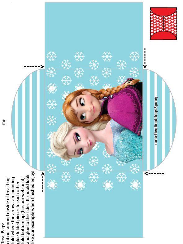 Free Printable Box Box Free Printable Box Free Printable Cartoon Coloring P Frozen Birthday Party Frozen Birthday Theme Kids Themed Birthday Parties