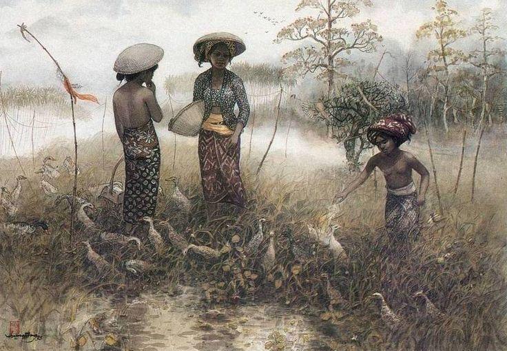 Huang Fong - Gembala dengan Angsa
