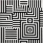 Victor Vasarely - 'Rui-Kiu-C'  (1960) Abstract