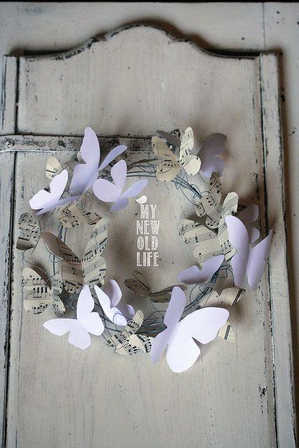 ghirlanda farfalle di carta | Flickr – Condivisione di foto!