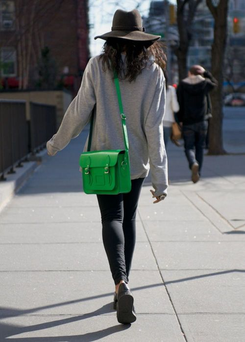 Comfy cozy....and oh, I love the bag!