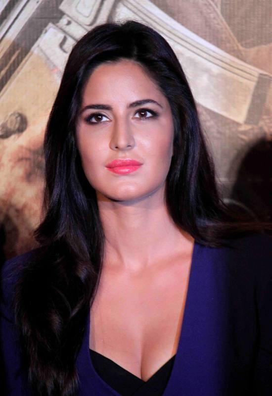 Katrina Kaif Flaunting Hot Cleavage at Phantom trailer launch