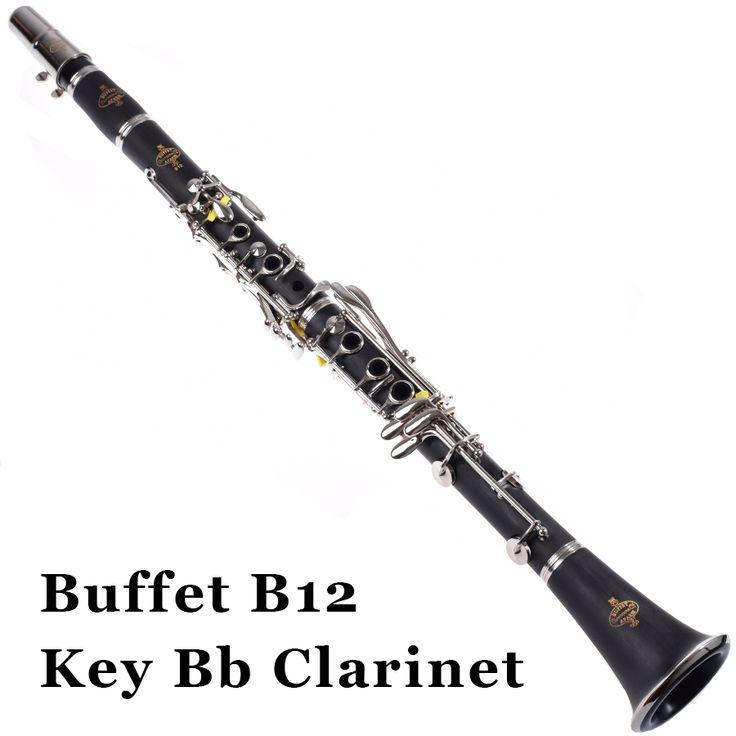389.00$  Buy now - http://alinau.worldwells.pw/go.php?t=32519056820 - Buffet B12 Clarinet Bb 17 key APARIS Clarinete BUFFET Crampon Professional Woodwind Musical Instrument Klarinette With Case 389.00$