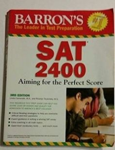 Barron's SAT 2400: Aiming for the Perfect Score 3rd Edition free download by Linda Carnevale M.A. Roselyn Teukolsky M.S. ISBN: 9780764144356 with BooksBob. Fast and free eBooks download.  The post Barron's SAT 2400: Aiming for the Perfect Score 3rd Edition Free Download appeared first on Booksbob.com.