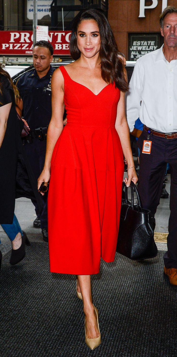 Meghan Markle's Best Street Style Moments - July 14, 2016 from InStyle.com