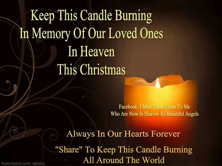 117 Best Images About Candles In Memory Of..... On