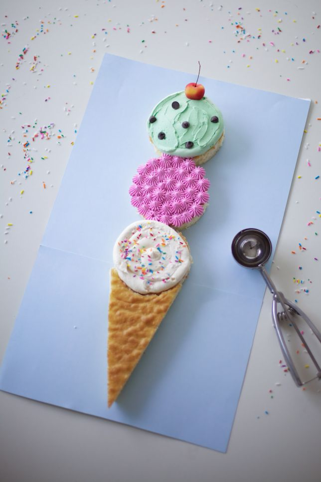 ice cream cone cake - coco cake land
