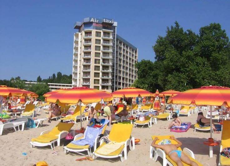 Hotel Kaliakra Standard Superior Albena, sejur 7 nopti, all inclusive plus, early booking, piscine, hotel pe plaja, loby bar, sezlohg, unmbrele gratis