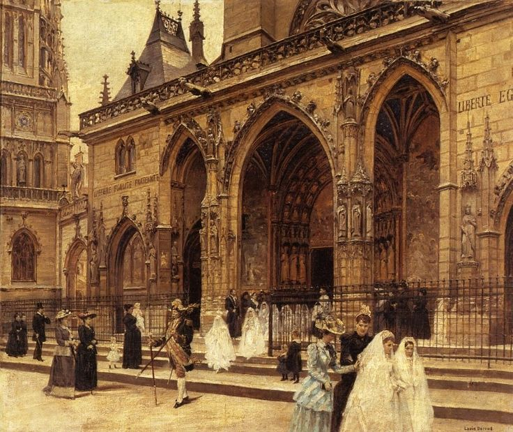 First Communion | Louis Beroud, French, 1852-1930