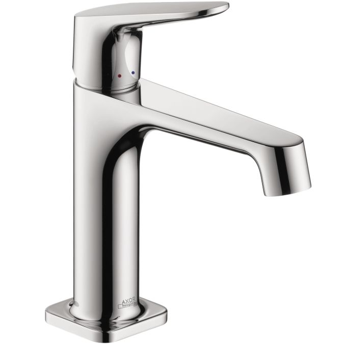 The Hansgrohe Axor Citterio M single hole chrome faucet will add a modern update to your kitchen or bar. Crafted of durable materials, this distinct faucet offers a contemporary design with everyday f