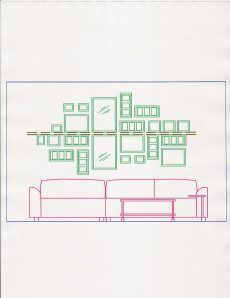 Picture Collage above couch – #abovecouch #Collage…