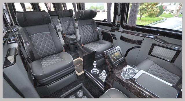 Mercedes Sprinter Vip İç Dizayn www.minibuskiralama.pro
