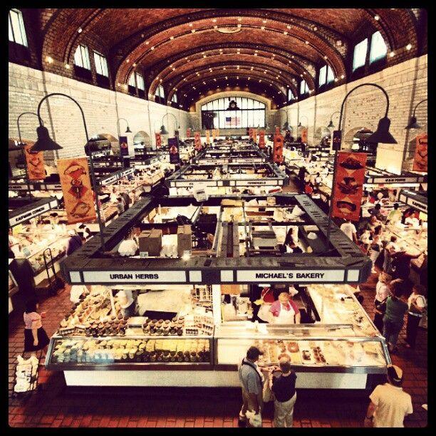 Cleveland's West Side Market #ohiogram