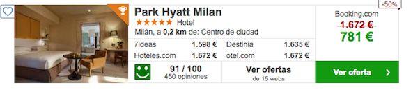 Ver Oferta Hotel Park Hyatt Milan