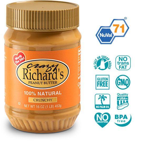 crazy richard's crunchy pb